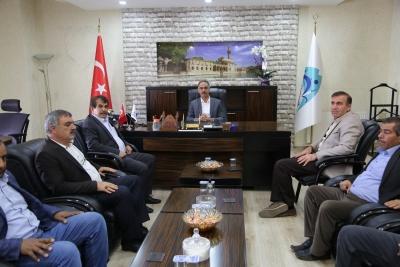 Eyyübiye Belediye Başkanı Mehmet Kuş'a Tebrik Ziyaretleri Devam Ediyor