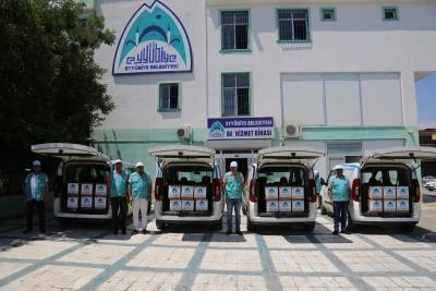 Eyyübiye Belediyesi Yardıma Muhtaç Vatandaşların Yüzünü Güldürüyor