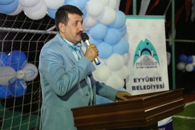 Eyyübiye Belediyesi Spor Komplekslerini Bir Bir Açıyor.