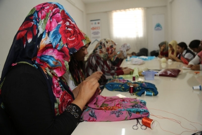 Eyyübiye Belediyesi Kadın Destek Merkezine Yoğun ilgi