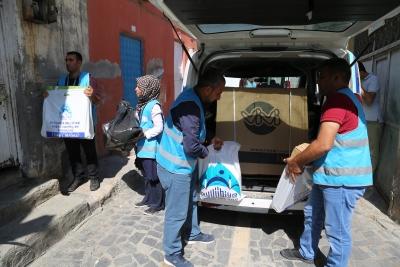 Eyyübiye Belediyesin'den 4 Yılda 47 Bin 205 Aileye Yardım