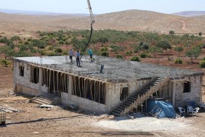 Eyyübiye Belediyesinin Her Mahalleye Kırsal Konak Yapımı Devam Ediyor