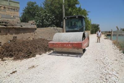 Eyyübiye Kırsalında Vatandaşlar Hizmetten Memnun