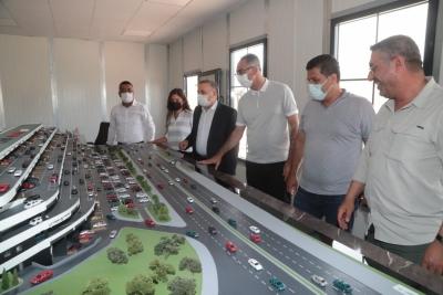 Eyyübiye'ye dev oto galericiler sitesi yapılıyor