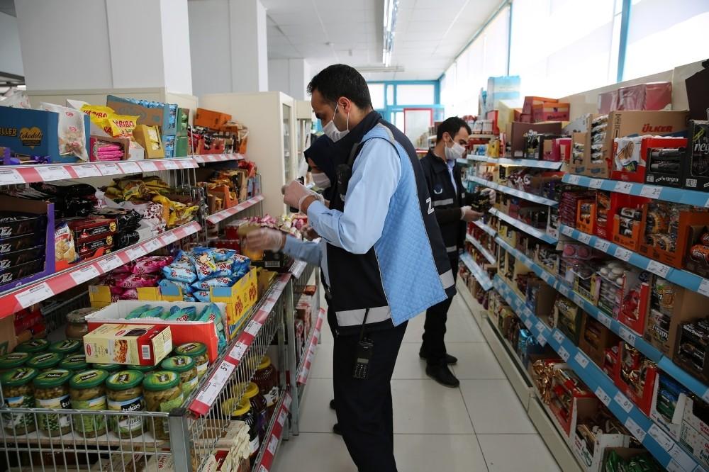 Haliliye'de gıda denetimi