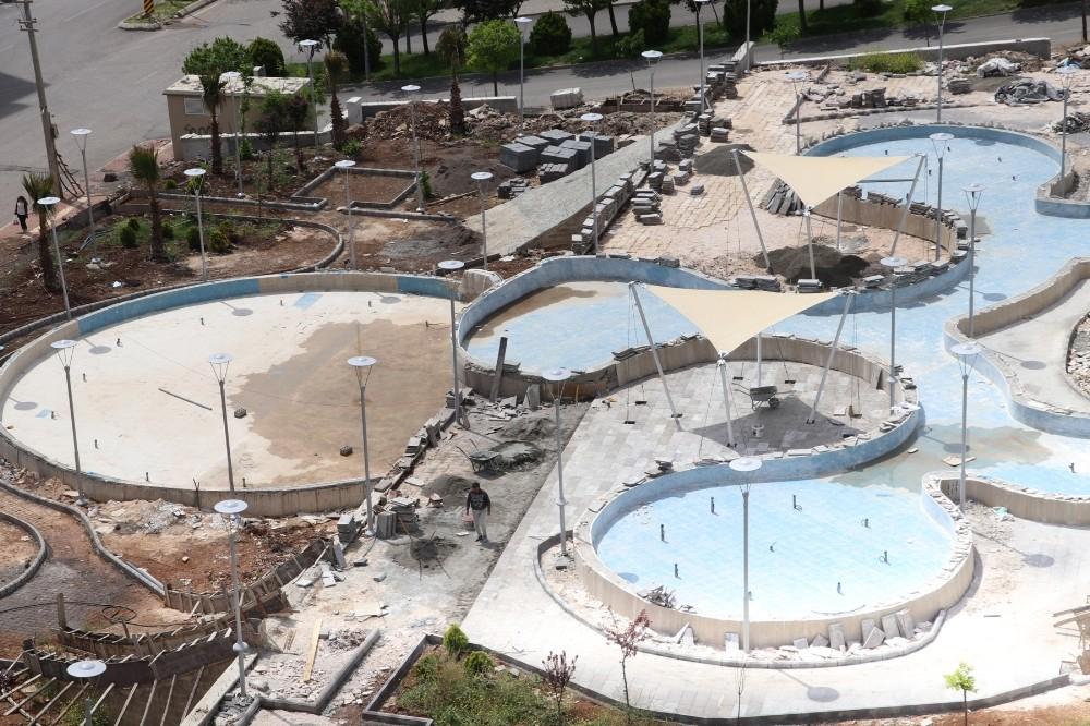 Karaköprü'ye yeni bir park daha kazandırılıyor