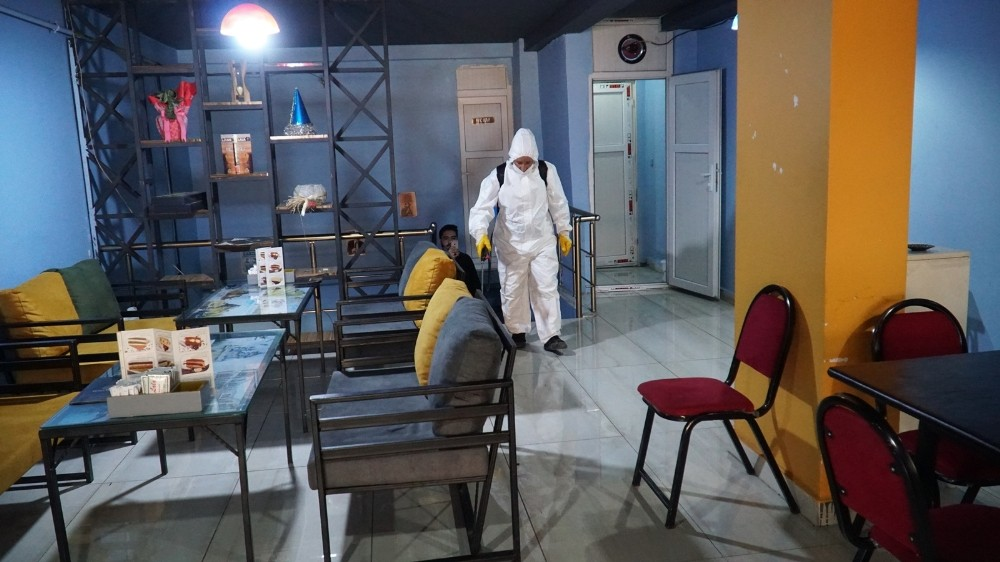 Haliliye'deki kafe ve restoranlar yarına hazır
