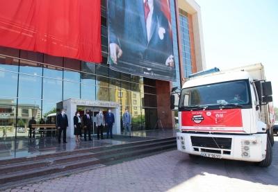 GAİB'ten Bölge İllerine 750 Bin Adet Maske Desteği