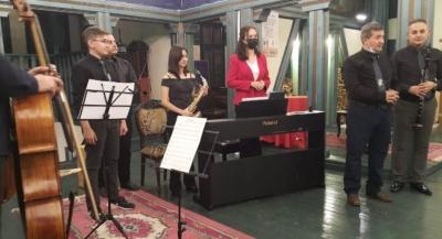 Genç Piyanist Konser Şöleni ile Almanya'ya Uğurlandı