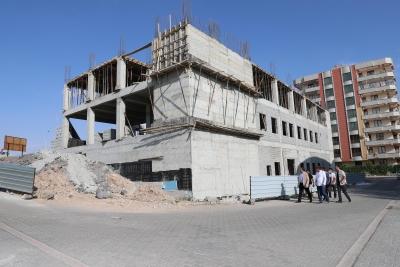 Göbeklitepe Kültür Evi'nin yapımı devam ediyor