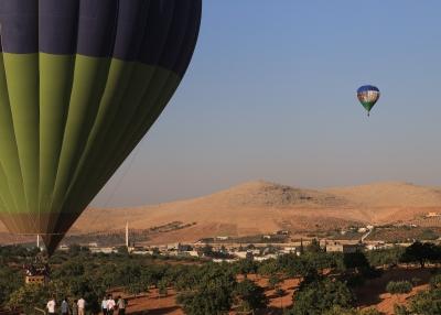 Göbeklitepe'de balon uçuşları başladı
