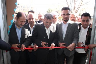 Gülpınar Ve Beyazgül Siverek'te Miting Gibi Seçim Bürosu Açtı