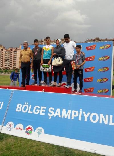 Haliiliyeli Atletizimci Bölge Şampiyonu Oldu