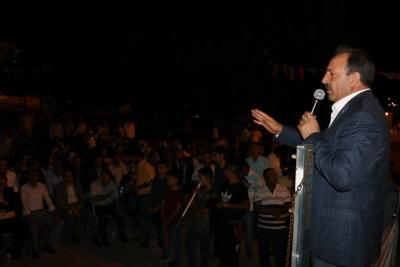 Halil Özcan Mahalle Toplantısında Vatandaşlara Seslendi