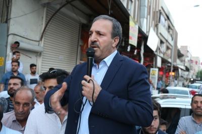 Halil Özcan'a Eyyübiye'de Sevgi Seli