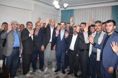 Haliliye Belediye Başkan adayı Mehmet Canpolat gece gündüz demeden ziyaretlerini sürdürüyor