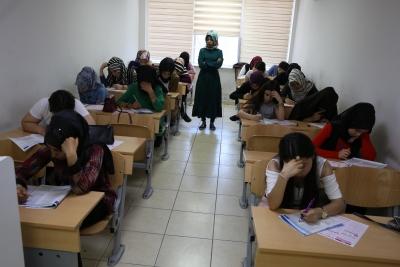 Haliliye Belediyesi Öğrencileri Sınavlara Hazırlıyor
