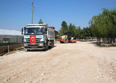 Haliliye Belediyesi Kırsaldaki Yol İhtiyaçlarını Bir Bir Gideriyor