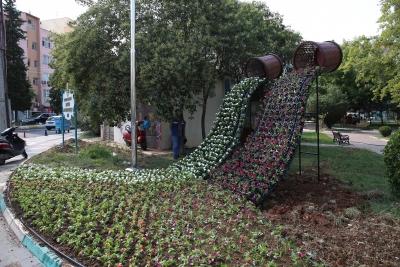Haliliye Belediyesi İlçeyi Çiçekler İle Süsülüyor