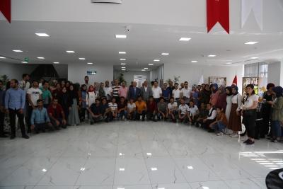 Haliliye Belediyesin'den YKS Öğrencilerine Moral Proğramı