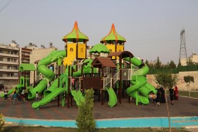 Haliliye Belediyesinden Çocuklar İçin Parklara Yeni Oyun Grubu