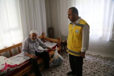 Haliliye Evde Bakım Hizmeti ile Dua Alıyor