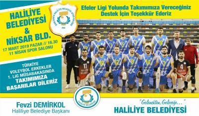 Haliliye Voleybol Takımı Niksar Maçına Hazır