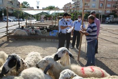 HALİLİYE'DE BAYRAM ÖNCESİ TEDBİRLER HAT SAFHADA