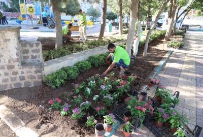 Haliliye'deki Parklar Peyzaj Çalışmaları ile Güzelleşiyor