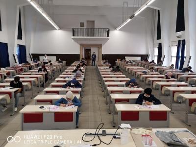 Harran Üniversitesi Yabancı Öğrenci Sınavının İkinci Aşaması Yapıldı