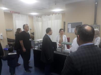Hastanelerdeki Acil Servisler Hasta Kabulüne Kesintisiz Devam Etmektedir.