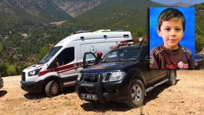 Hatay'da Kaybolan Minik Ufuk'tan Kötü Haber