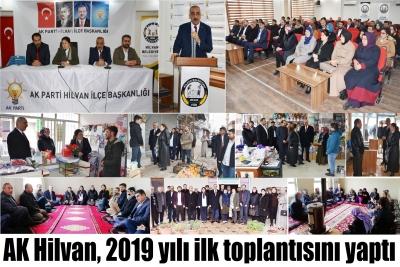 Hilvan 2019 yılı ilk toplantısını yaptı