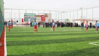 Hilvan Belediyesinin Katkılarıyla Hükümlülere Spor Alanı