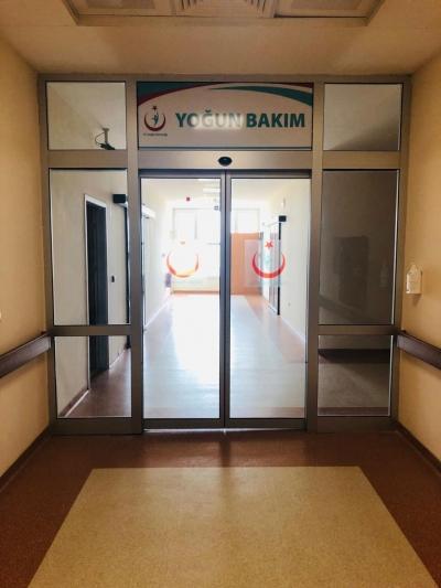 Hilvan Devlet Hastanesi'nde Yoğun Bakım Ünitesi hizmet vermeye başladı.