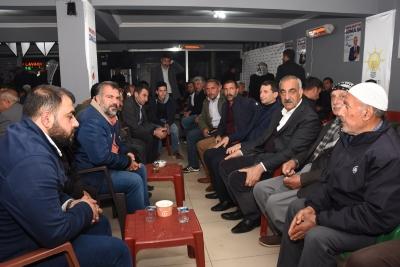 Hilvan'da Ak Parti'ye Katılımlar Devam Ediyor