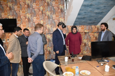 HRÜ'den Şehircilikte Geo-Tasarım ve Sanal Gerçeklik Çalıştayı