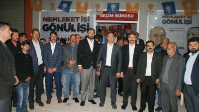 Hüdapar'dan Aksoy'a destek