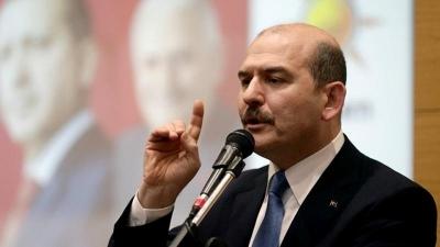 İçişleri Bakanı Süleyman Soylu, ″Günde 400 ile 500 kaçak göçmen yakalanıyor″ dedi.