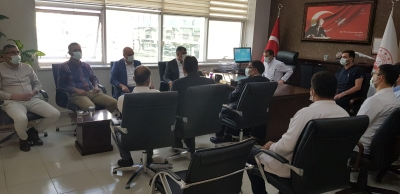 İl Sağlık Müdürü Prof. Dr. Mehmet GÜLÜM, Akçakale Devlet Hastanesinde incelemelerde bulundu.