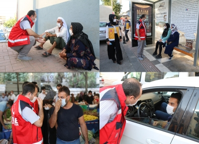İl Sağlık Müdürü ve Yöneticileri Covid-19 salgınıyla mücadele kapsamında Haliliye ilçesinde denetimler gerçekleştirildi.