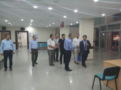 İl Sağlık Müdürümüz İftar sonrası ziyaretleri.
