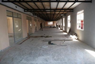İş merkezi kadınlar için aktivite merkezine dönüştürülüyor