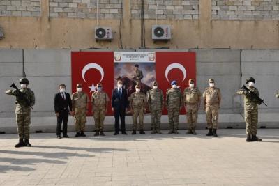 Jandarma Genel Komutanı Çetin, Resulayn'da İncelemelerde Bulundu