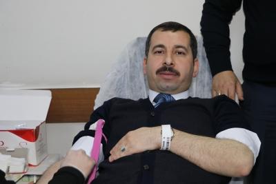 Karaköprü Belediyesin'den Kan Bağışına Destek