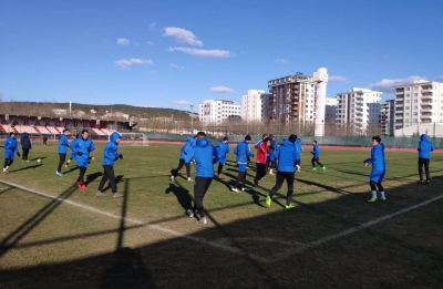 Karaköprü Belediyespor futbolcularından Yomraspor açıklaması;