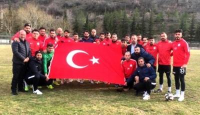 Karaköprü Belediyesporlu Başkanlardan futbolcularına çağrı