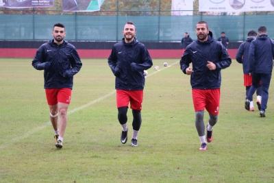 Karaköprü Belediyespor Erbaaspor'a Hazırlanıyor