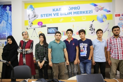 Karaköprü de Gençler Bilimle Buluştu