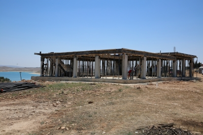 Karaköprü Kırsalında Çok Amaçlı Salon Yatırımları Devam Ediyor